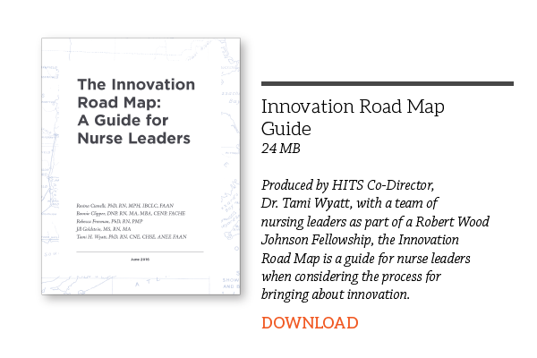 download innovation roadmap for nurse leaders